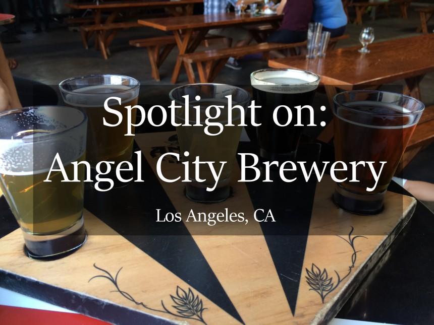 Beer, craft beer, craft brewery, angel city brewery, los angeles, los angeles breweries, angel city beer