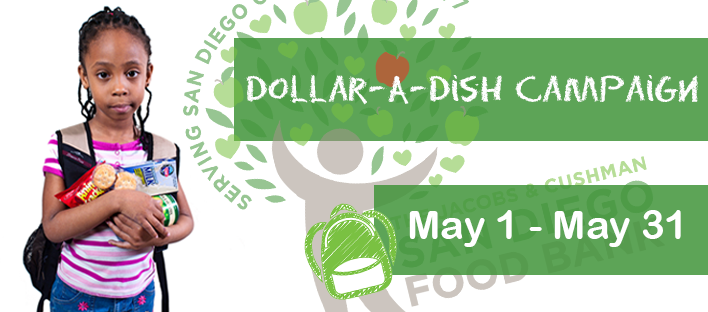 Dollar a dish, Jacobs and Cushman san diego food bank, food bank, charity, philanthropy, san diego, ocean beach, ob brewery, ocean beach brewery, southern California charities, ways to give back, donate, beer, craft beer, microbrewery, helping out