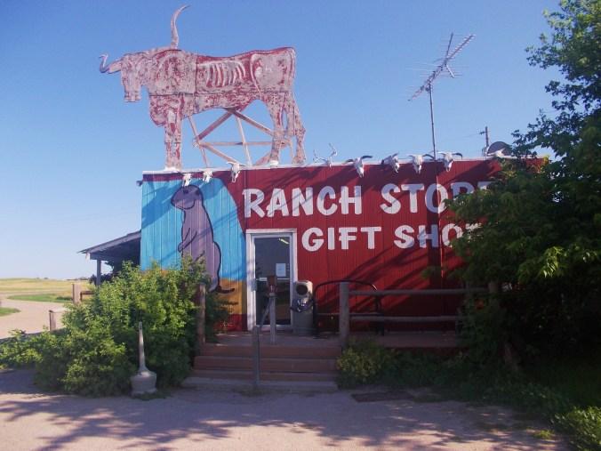 Ranch store, prairie dogs, sightseeing in south Dakota, what to do in south Dakota, badlands national park, family fun in south Dakota, road trip through south Dakota, where to feed prairie dogs