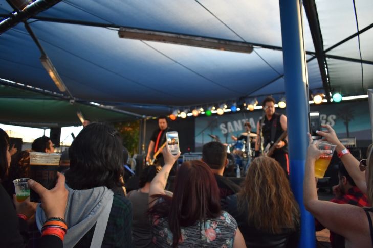 California, north America, united states, los angeles, santa fe springs swap meet, live music, kroq, green today, green day, green day tribute bands, bargain shopping in los angeles, shopping