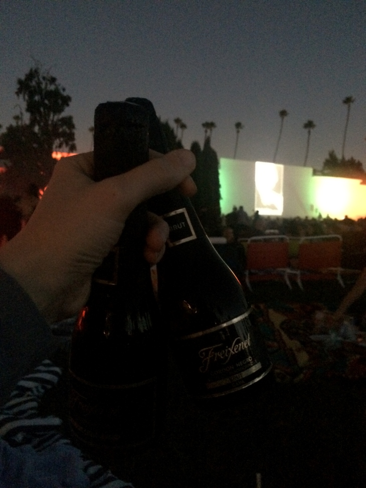 Freixenet, cinespia, Hollywood forever cemetery, night of the living dead, Halloween events in los angeles, Halloween, Halloween fun in la, Halloween things to do in los angeles, outdoor moving screenings, movies at Hollywood forever cemetery, historic places in Hollywood, historic places in los angeles, best Halloween things to do in la, cava, Spanish champagne, Spanish wine